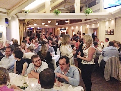 Almost 250 diners were treated to a 'Viking Banquet' in the dining room on Saturday night