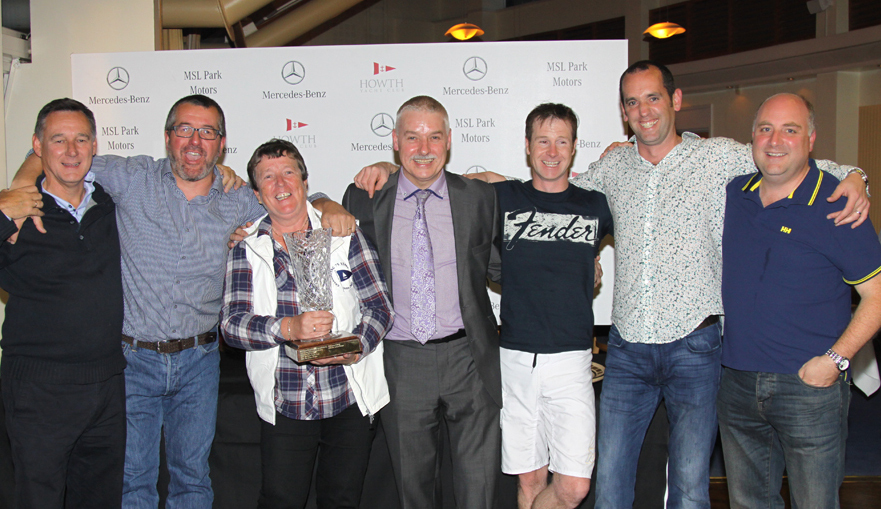 Overall winners of the Autumn League's 'Heineken Trophy' - Gold Dust with Brendan Grace from MSL Park Motors