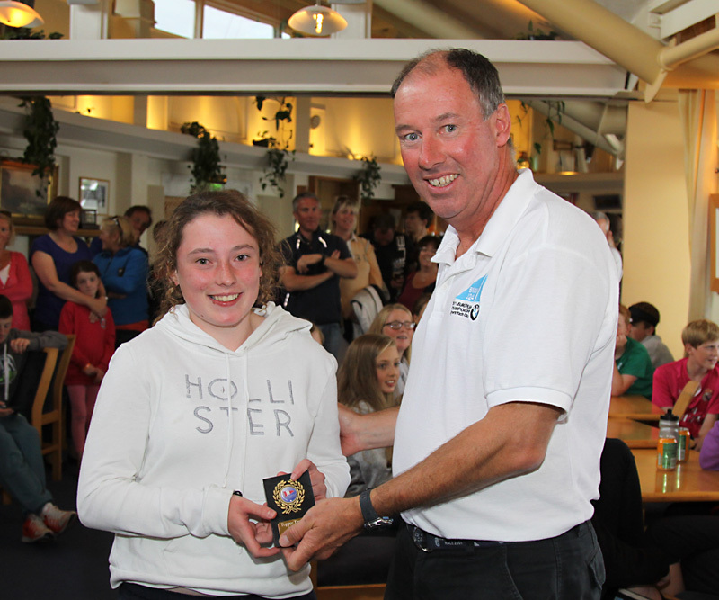 2nd U17 - Maeve O'Sullivan (Strangford Lough YC)