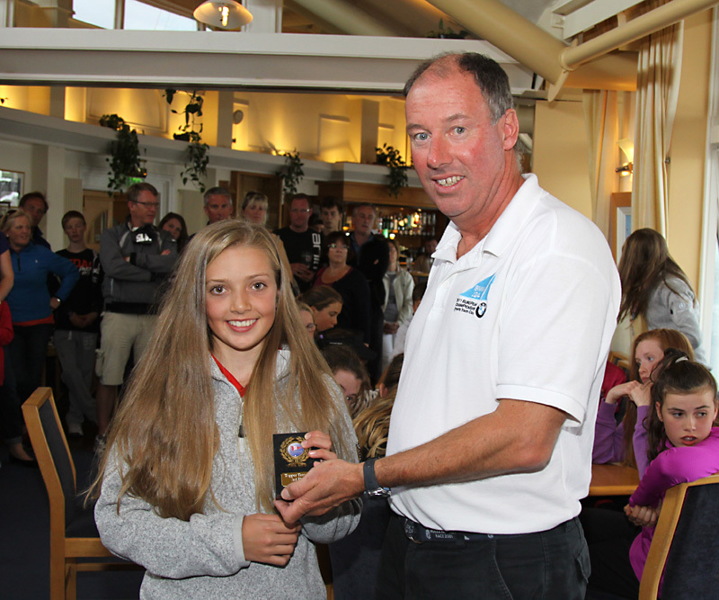 3rd Overall - Jenna McCarlie (Co Antrim YC)