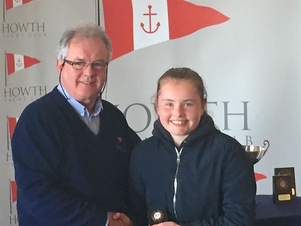 Kate Fahy (RstGYC/LDYC) – 3rd Senior Fleet