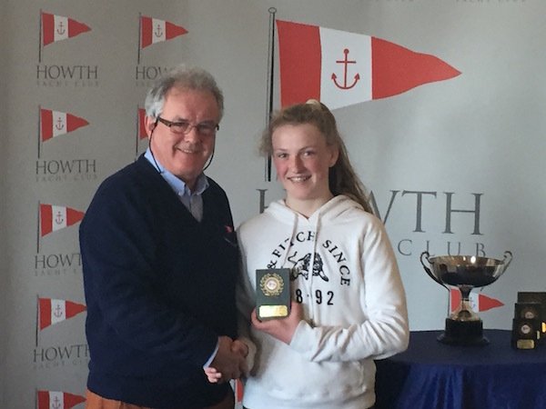 Eve McMahon (HYC) – 1st Junior Fleet