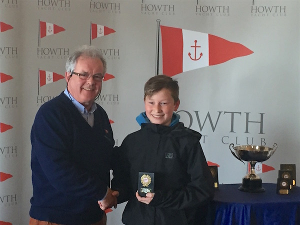 Moss Simington (RStGYC) - 2nd Junior Fleet