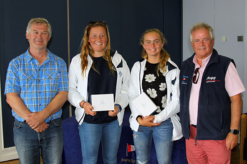 Gold Fleet 2nd - 1st Overseas - Katie Davies Itchenor SC & Madeline Watkins Poole YC