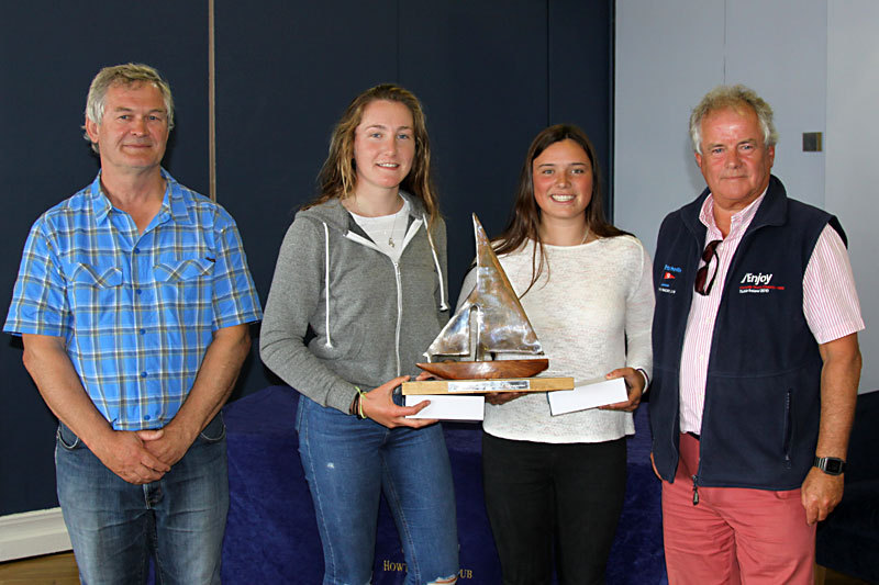 Irish Ladies Champions - Kate Lyttle and Niamh Henry RstGYC