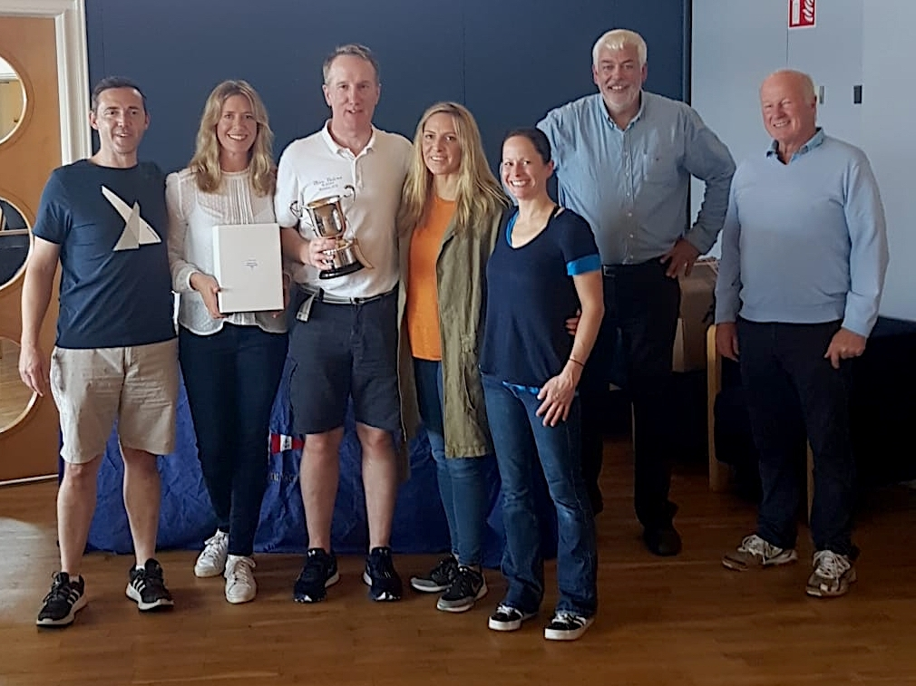 Team 'Blue Velvet' win the Championships