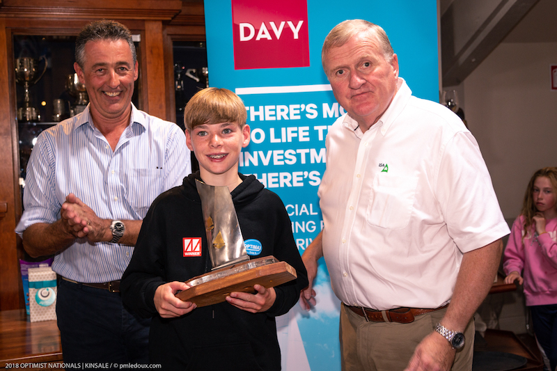 Luke Turvey – 2nd Senior National, 1st Under 13