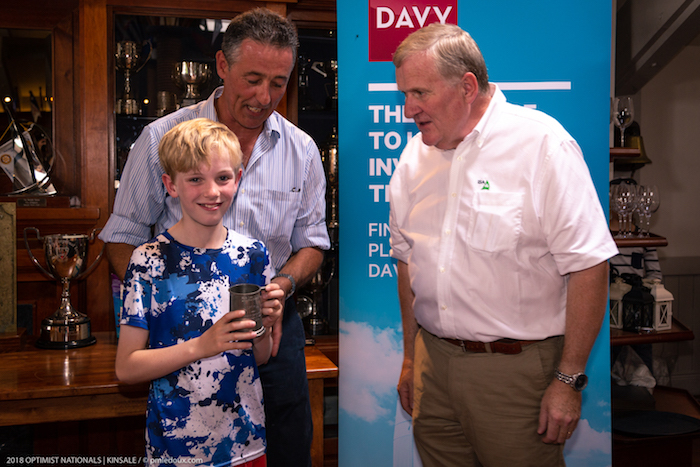 Cillian Twomey - Best National Under 11