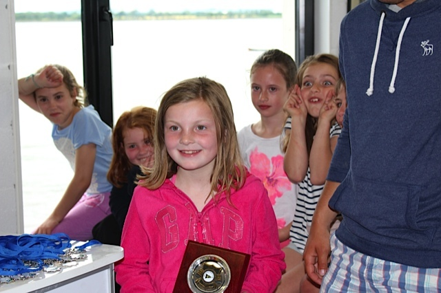 Sadhbh O'Byrne - best Under 8 - Regatta Fleet