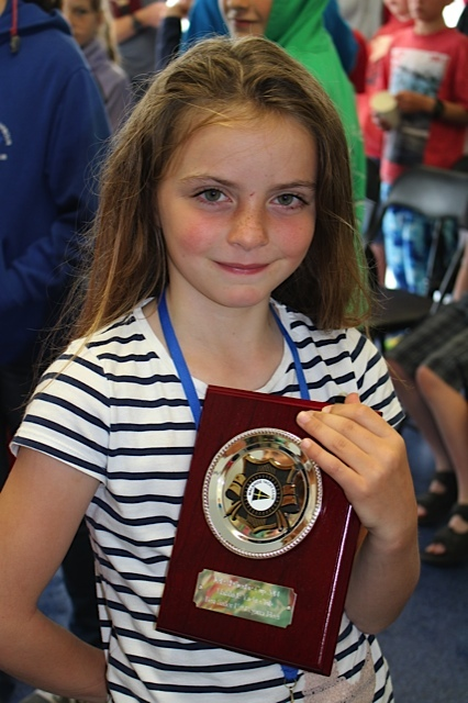 Alice Lacy - best Under 9 - Regatta Fleet