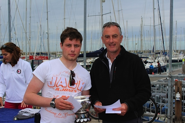 Laser - full rig and Radials - 1st place Calum Maher from Sutton Dinghy Club