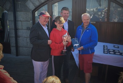 Harry Bell wins Optimist Leinster Championships