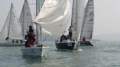 Lively weekend and champagne sailing for the Sportsboat Cup