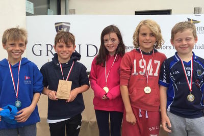 HYC juniors at the Optimist Ulsters and VP Trophy