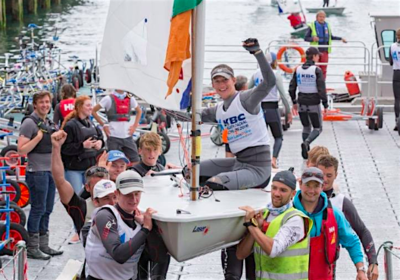 Ewan tells of Silver at Laser Radial Worlds!