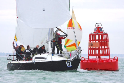 Howth boats make their presence felt at Half Ton Classic Cup