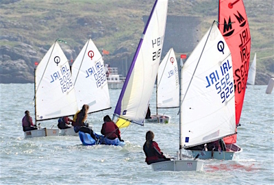 Dinghy Regatta ends the summer sailing season in style