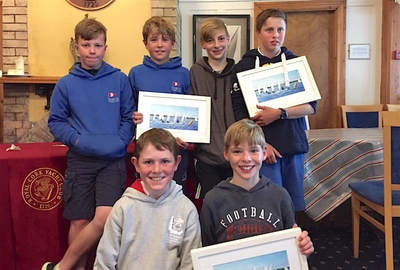 Howth sailors at Munster Optimist Championships
