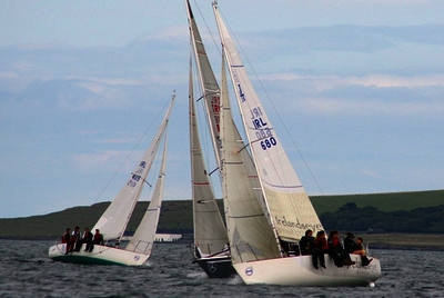 Howth boats enjoy Malahide Regatta