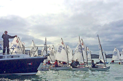Brassed Off Cup for Optimist sailors returns on Good Friday