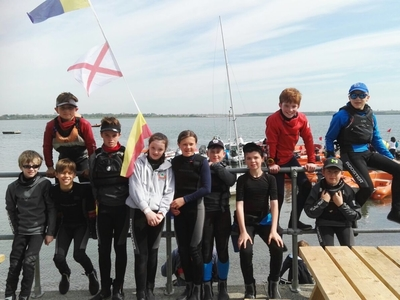 Clean sweep for HYC Optimist sailors at Ulster Champs