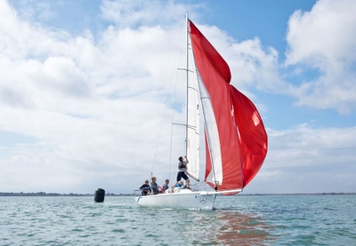 Keelboat crew coaching for individuals at HYC