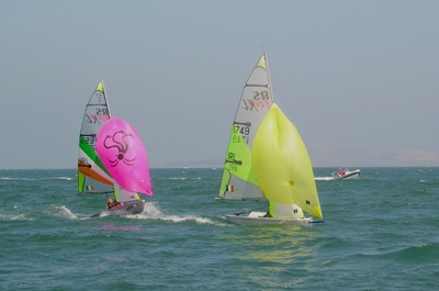 RS Feva National Championships enjoy the best sailing conditions