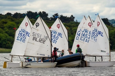 Sun and HYC sailors shine at Optimist Connacht Championships