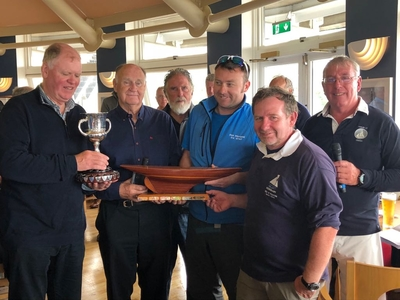 Howth 17, Gareloch & Fairy Team Racing in Howth Yacht Club