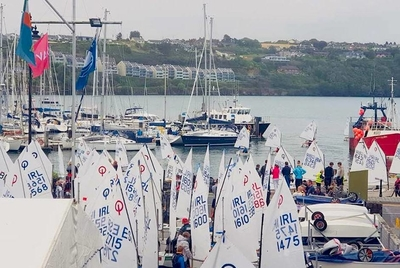 Optimists Battle at Nationals in Kinsale
