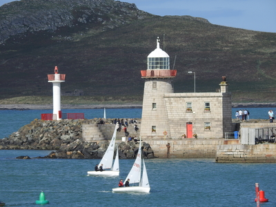 Perfect conditions for HYC Dinghy Regatta