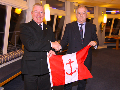 HYC Members welcome incoming Commodore Ian Byrne
