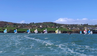 HYC sailors at 420 Schull/ Munster Championships