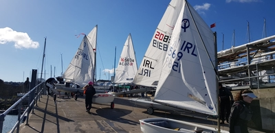 Icebreaker Series starts in brilliant sunshine and lots of wind