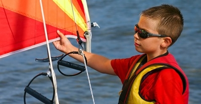 Optimist Nationals 'Fun Week' for younger sailors
