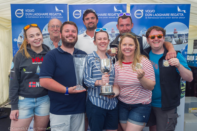 Howth boats attend Volvo Dun Laoghaire Regatta in numbers