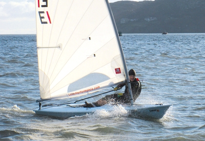 Shared spoils for Lasers in Howth on Sunday
