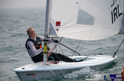 Eve McMahon interviewed after winning Irish Sailing's Youth Sailor of the Year