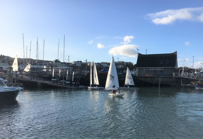 Laser Sailors Enjoy Idyllic December Training Conditions