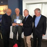 Romeos visit Pearse Lyons Distillery and lunch at NYC