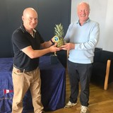 2018 Squib Easterns Booby Prize winner- Booholt Vanderschnoos (Kilbarrack SC) and Rear Commodore Paddy Judge (Accepted by Emmet Dalton in B.V. absence).jpg