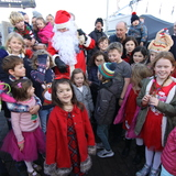 Santa visits Howth Yacht Club