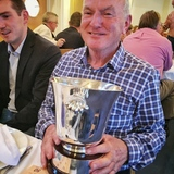 Tom Houlihan with the Handicap Trophy