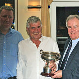 Dermot Skehan (Toughnut) is presented with the 'Cochise Cup'