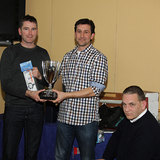 Team Trophy winners - Gary Sargent and Paul Keane