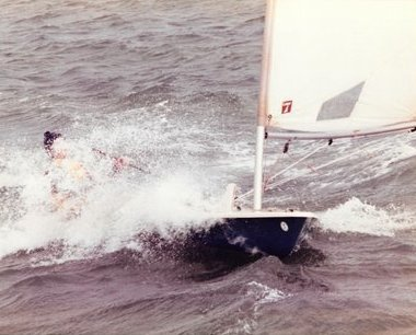 Gordon Maguire - aged 14 competing in the HYC Frostbites
