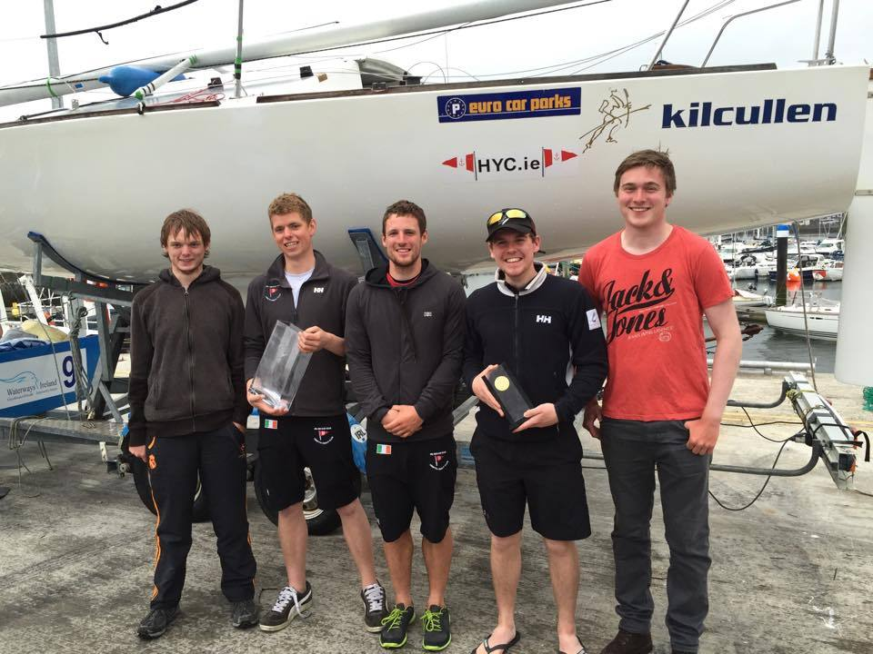 HYC's K25 team - winners in Class 4 IRC
