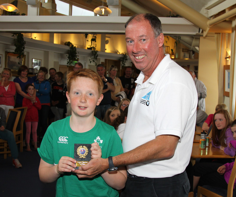 2nd U12 - Rory Williamson (East Antrim Boat Club & CAYC)