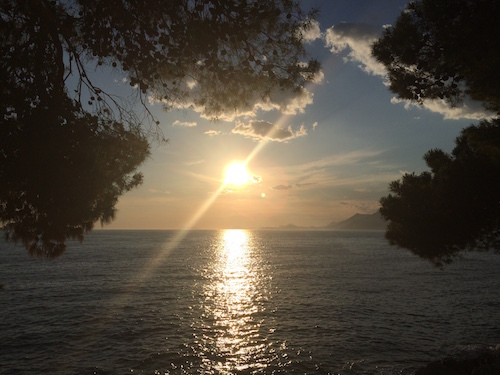 Sunrise on Otok Mljet