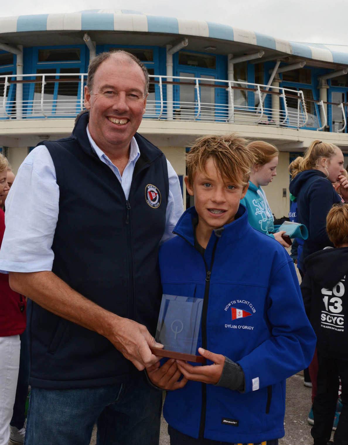 HYC's Dylan O'Grady narrowly missed out on the main prize, finishing a brilliant 2nd place in the Senior Gold Fleet